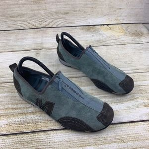 Merrell Barrado Barefoot Stone Blue Walking Shoes